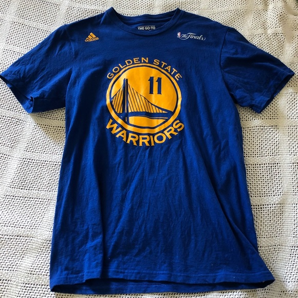 free shipping 40b42 c8b3c NBA warriors finals Thompson jersey style t shirt